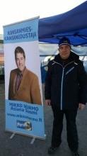 Mikko Nurmo, kansanedustajaehdokas Valkeakoskelta